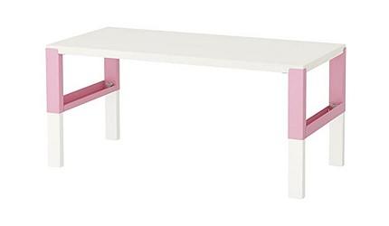 兒童書桌推薦成長書桌推介台灣製實木書桌高度選購指南文章IKEA PAHL書桌