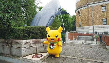 東京《精靈寶可夢》人孔蓋