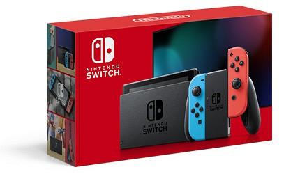 任天堂nintendo-switch主機推薦ns主機電力續航加強版