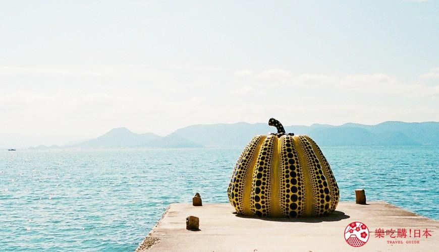 瀨戶內國際藝術祭2022推薦旅遊自由行必看作品直島南瓜草間彌生