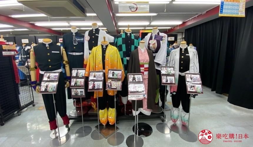 日本東京池袋自由行懶人包推薦景點Cosplay專門店ACOS