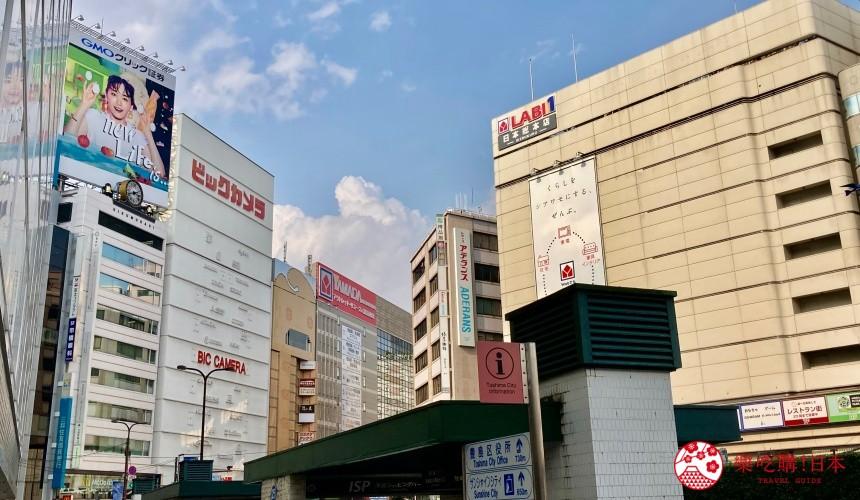 日本東京池袋自由行懶人包推薦景點BicCameraLABI