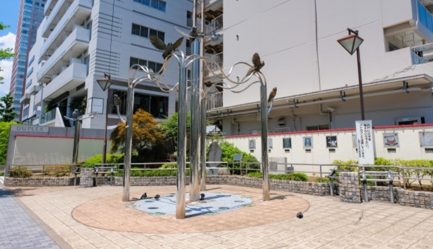 日本東京池袋自由行懶人包推薦景點元池袋史跡公園