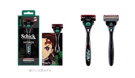 《鬼滅之刃》 × Schick刮鬍刀