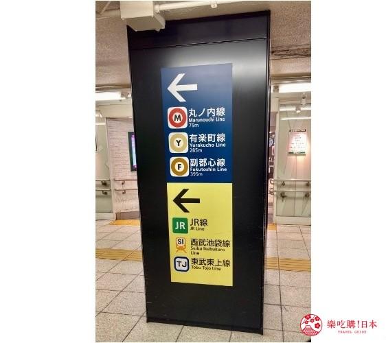 日本東京池袋自由行懶人包推薦景點車站標示