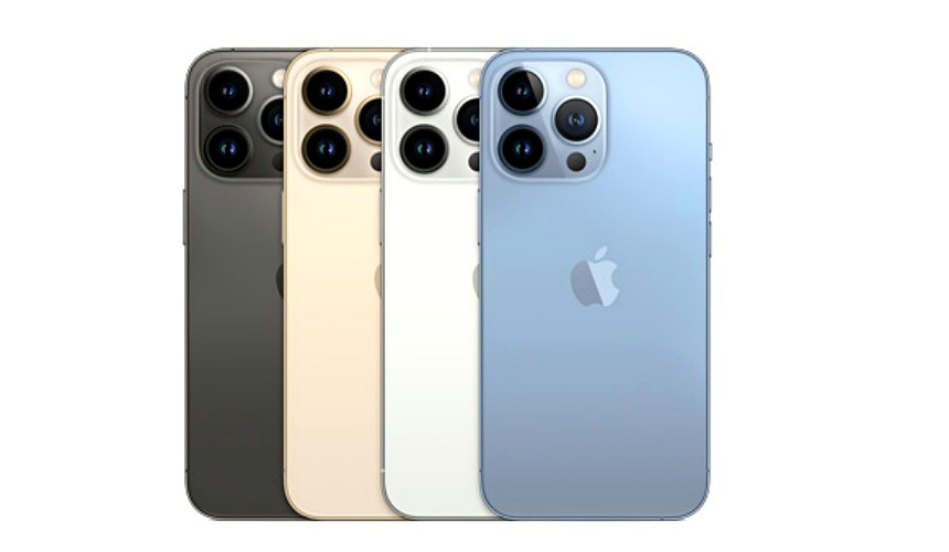 iPhone 13 系列顏色示意圖,新色天峰藍超熱門