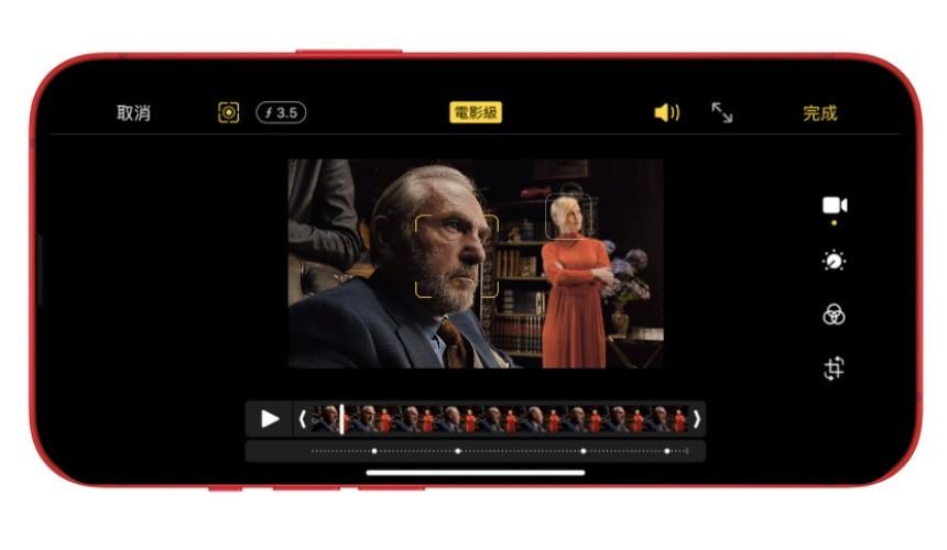 iPhone 13 系列攝影支援「ProRES」格式、內建電影級模式示意圖